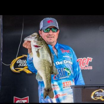 Fulton's Joseph Webster is in 39th place after day one of the 2017 FLW Forrest Wood Cup on Lake Murray.