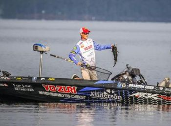 Brandon Cobb caught his share of nice fish on day three, but fell short of winning his first FLW Forrest Wood Cup.