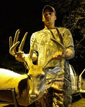 William Johnson killed this 12-point Allendale County trophy on Aug. 21, 2017.