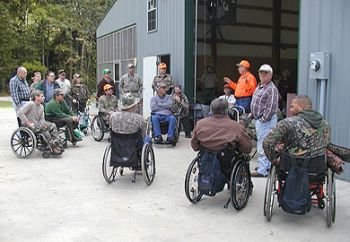 Mobility impaired deer hunters will have an opportunity to attend two Upstate deer hunts this fall, co-sponsored by SCDNR.