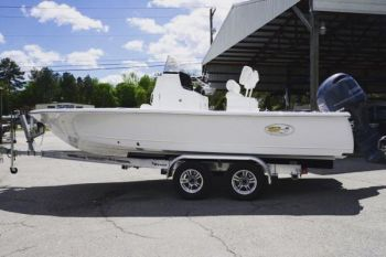 A Sea Hunt BX 22 bay boat will be given away at the CCA SC's Pee Dee banquet Sept. 7, 2017.