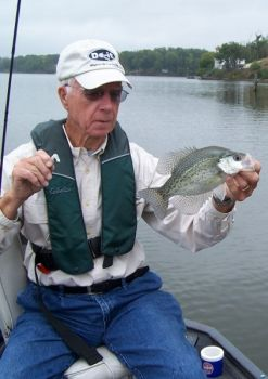 South Carolina's Lake Secession and North Carolina's Shearon Harris Lake are both sleeper picks for crappie fishing in the fall.