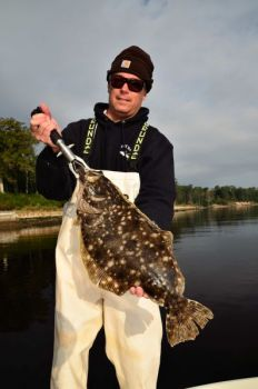 November is prime time to catch NC/SC state-line flounder.