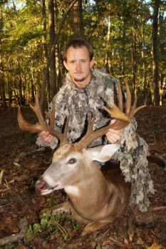 Cody Fields' Oct. 13 deer hunt lasted about 10 seconds long, and ended with this trophy 16-point, non-typical buck.