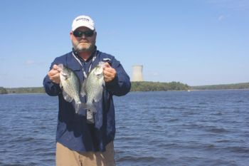 Don't pass up the exciting winter action for crappie at Shearon Harris throughout December.