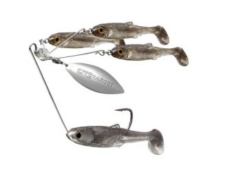 In design since 2010, LiveTarget's BaitBall Spinner Rig is available in three sizes, with two weights for each.
