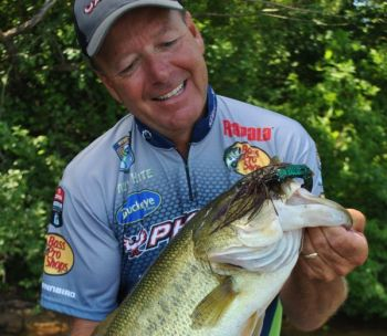 A Mop Jig is a big-fish bait, whether you're fishing it in spring, summer or fall. Carry 1/4-, 3/8- and 1/2-ounce sizes in your tackle box to have all situations covered.