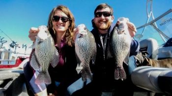 Nice Falls of Neuse Lake crappie are there for the taking in January, if you know the particulars of finding and catching them.