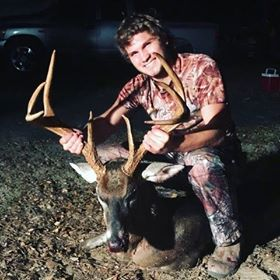 Tyler Craig killed this 205-pound Aiken County, SC buck after a two-year hunt.