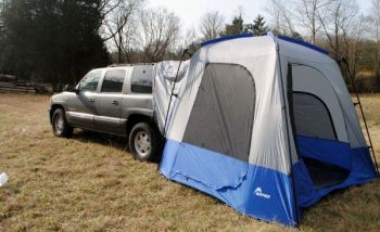 Napier's SportZ SUV Tent 82000 can turn your SUV into a real camping experience.