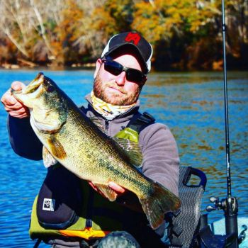Stewart Venable's best fishing day on a river came during the winter of 2016, after he pulled into the mouth of a tributary creek on the Catawba River to eat lunch and saw bait flipping.