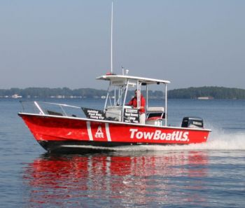 The U.S. Coast Guard is searching for a TowBoatUS captain after his vessel capsized near the Pungo River.