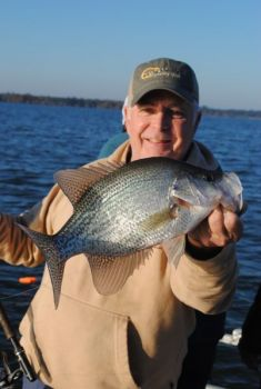 Planer boards open up shallow water to spring crappie trollers.