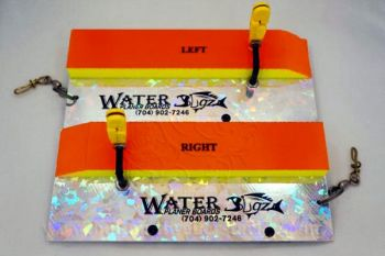 Light planer boards like Water Bugz are more suitable for pulling light lures and baits for crappie.