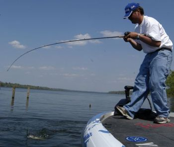 Soft baits catch plenty of shallow, spring largemouths, but they're not the only way to go.