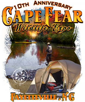 The 10th Annual Cape Fear Wildlife Expo will be held this weekend at Fayetteville, N.C.'s Crown Complex Arena.
