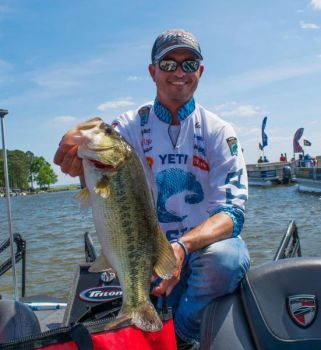 Casey Ashley finished eighth in the 2018 Bassmaster Classic on Lake Hartwell.