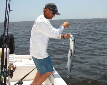 Go fast or slow, but make sure you target Spanish mackerel in May off the Carolinas.
