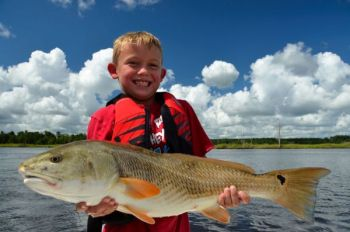 The four major rivers that all meet just upstream from Georgetown, S.C., feature enough brackish water to attract spring redfish.