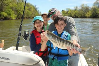 The 2018 striper season on the Roanoke River has been extended to May 6.