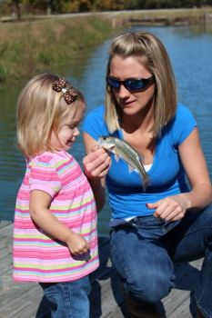 The fishing rodeos are open to kids aged 5 to 15.