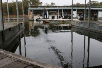Summer bass under docks deserve your best shot.