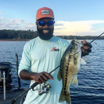 Pro bass angler Brian Latimer has some tips for catching bass like this one in the late spring.