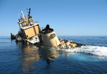 The SCDNR sunk the Gen. Oglethorpe off the coast of Charleston as an addition to Comanche Reef.