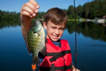 The free kids fishing vent is June 9 at the Neuseway Nature Park's main pond.