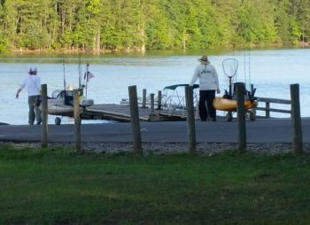 Municipal lakes in the Carolinas typically have well-maintained boat ramps or specifically designated kayak launch areas.