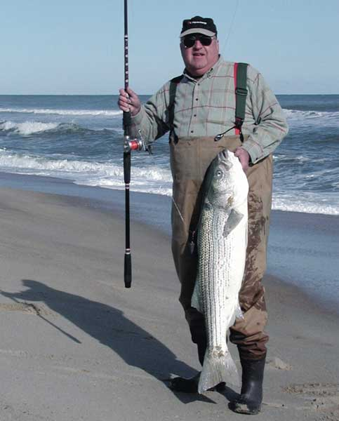 Winter stripers for Striper fishing nc