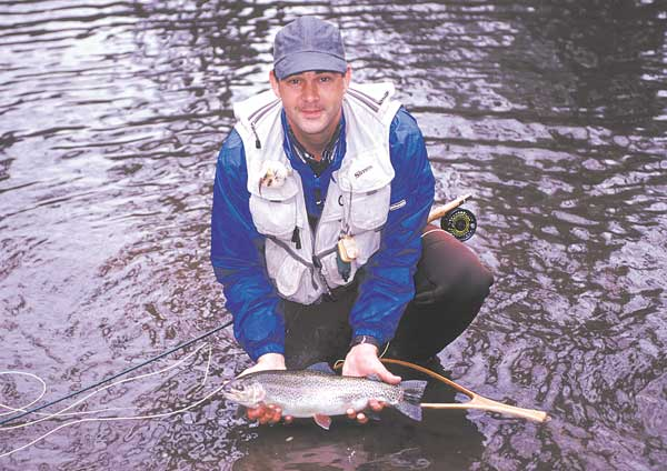 The Nantahala River Provides Great Trout Fishing