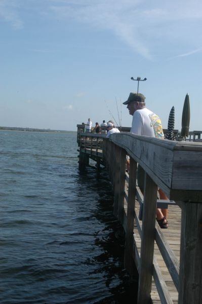 North Carolina has a wealth of fishing piers, offering great fishing