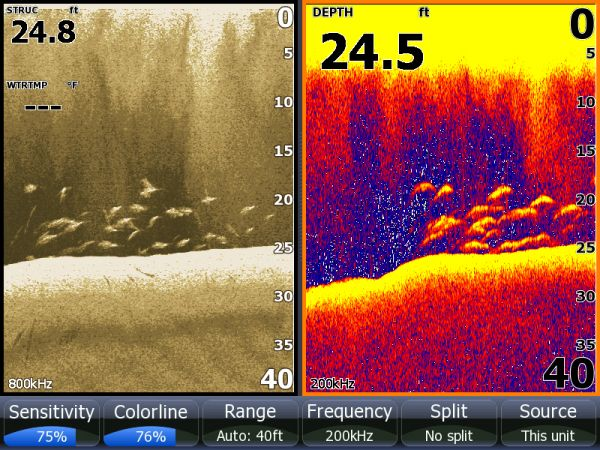 Semiautomatic fish finder operation uses sonar to help you for How does plenty of fish work