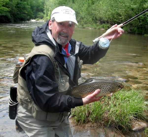 Rainbow trout at wilson creek for Nc trout fishing regulations