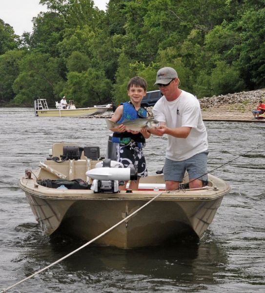 May is topwater time for roanoke rapids stripers for Striper fishing nc