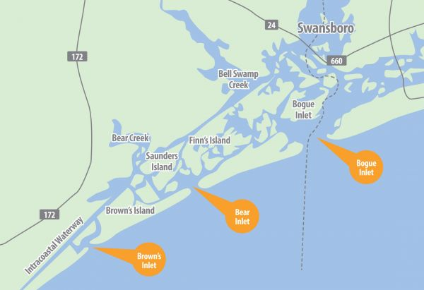 Swansboro area waters may hold north carolina s best red for Best fishing in nc