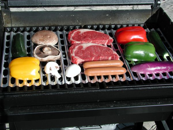 how to clean rusty cast iron bbq grill