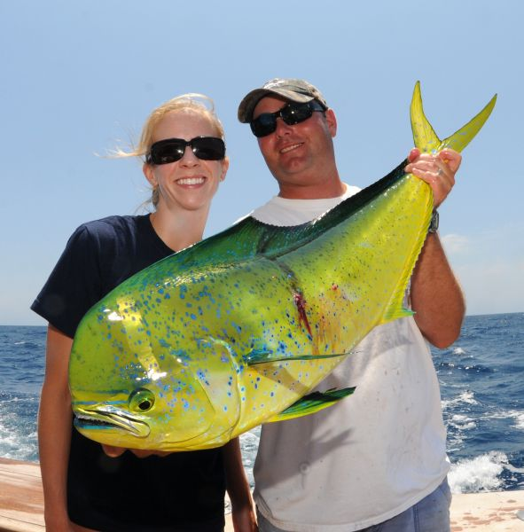 Bluewater fishermen can expect plenty of dolphin to arrive for South carolina saltwater fishing