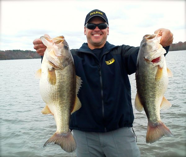 North carolina bass pro names his five favorite winter for Bass fishing in winter