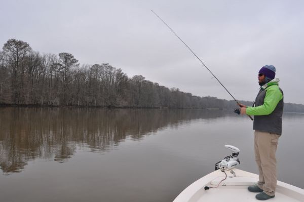 Make the roanoke river rock this month before the striper for Striper fishing nc