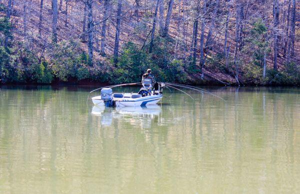 Tight line for tough badin lake crappie for Badin lake fishing