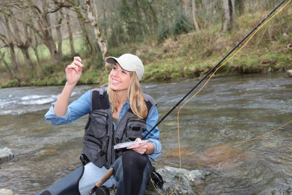 Women only fly fishing workshop scheduled for april 23 for North carolina trout fishing season