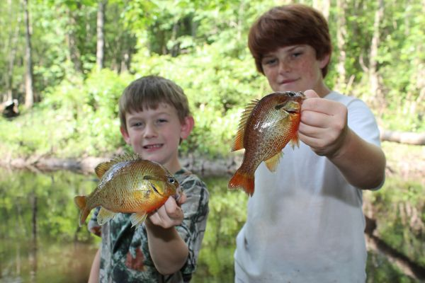 Lifetime fishing licenses other prizes given at free kids for Nc lifetime fishing license