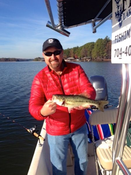 Lake norman spotted bass become more active as weather cools for Lake norman bass fishing