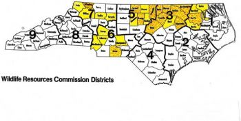 The designated counties are the only ones WRC field biologists believe need harvest increases next year.