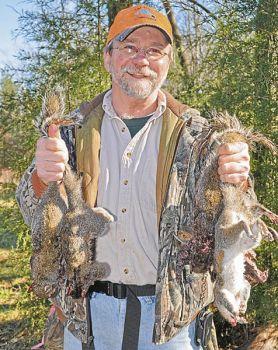 Many hunters wait until deer season ends to patrol the woods regularly for bushytails.