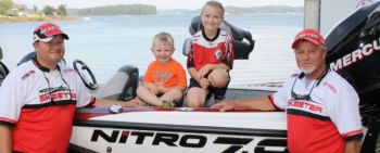 Kevin Dickson and Randy Dickson won the BAIT Classic on Lake Keowee in late September, winning a full-rigged Nitro bass boat.