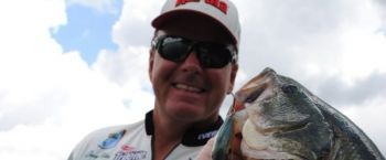 April is a month to use a bait with which you can cover a lot of water to find concentrations of prespawn bass.