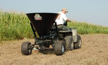 Fertilizer application before an expected rain event is usually an excellent plan.